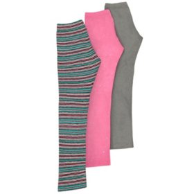Member's Mark 3-Pack Girls' Leggings