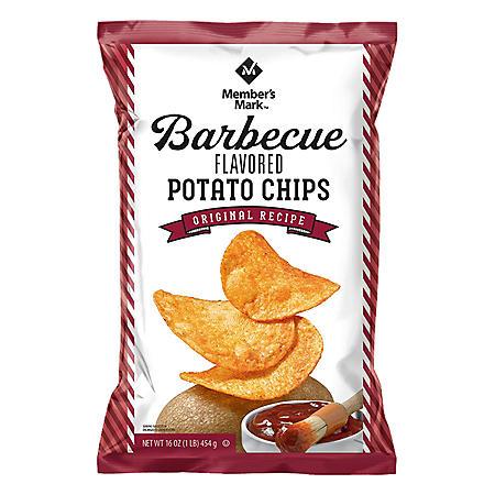 Member's Mark Barbecue Potato Chips (16 oz.)