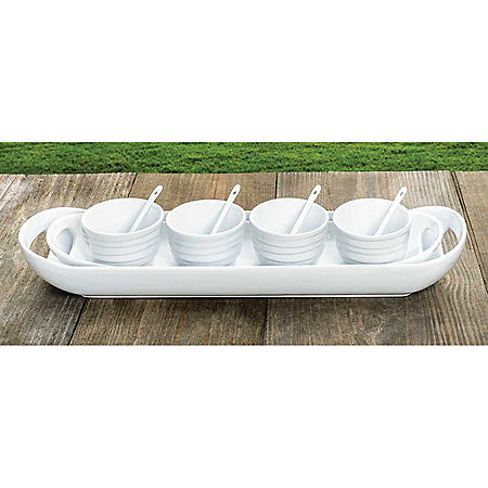 Member's Mark 10-Piece Stoneware Serving Set