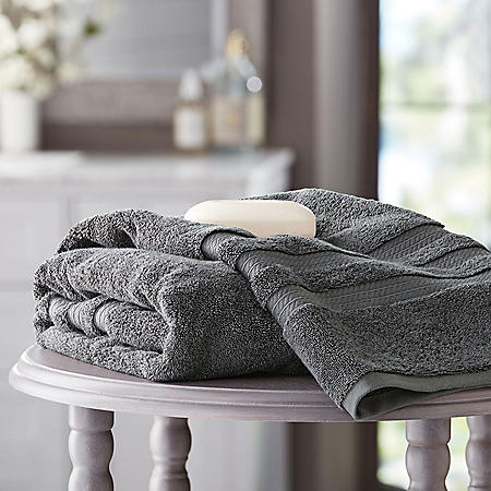 Hotel Premier Collection 100% Cotton Luxury Bath Sheet Towel by Member's Mark (Assorted Colors)