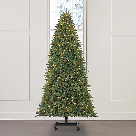 Member's Mark 9' Grow and Stow Adjustable Height Sonoma Fir Christmas Tree
