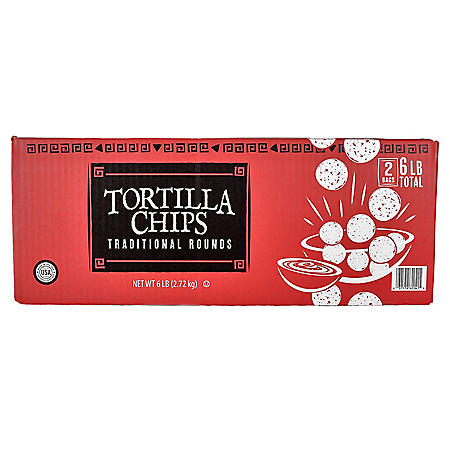 Member's Mark Round Yellow Tortilla Chips (48oz., 2pk.)