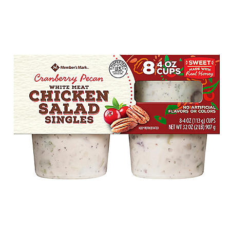 Member's Mark Cranberry Pecan Chicken Salad Singles (8 pk.)