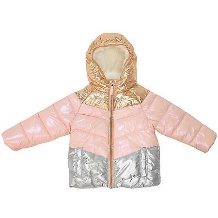Member's Mark Girl's Cozy Puffer Jacket (Various Styles)