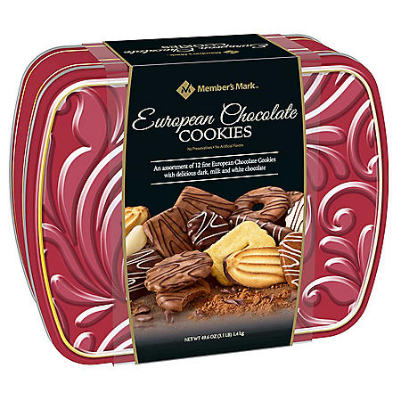 Member's Mark European Chocolate Cookies (49.4 oz.)