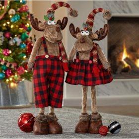 Christmas Moose Decorations