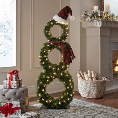 outdoor christmas decor outdoor holiday decor sams club - Sams Club Outdoor Christmas Decorations