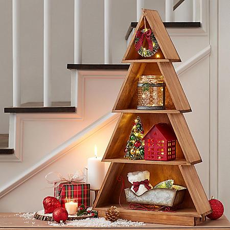 Member's Mark Prelit Keepsake Christmas Tree