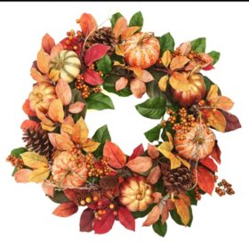 "Member's Mark 26"" Harvest Wreath"
