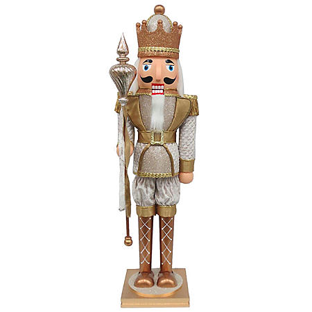 Member's Mark 32'' Wood Nutcracker (Gold)