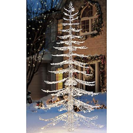 Member's Mark 7 ft Warm White Crystal Iced Christmas Tree