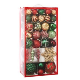 Member's Mark 80ct. Shatterproof Ornament Collection Classic Elegance