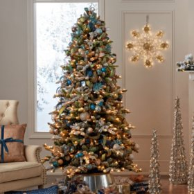 members mark 75 aspen pine flocked christmas tree