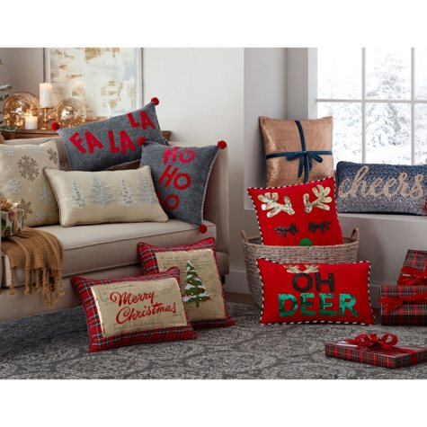 Member's Mark Holiday Pillows (Assorted)