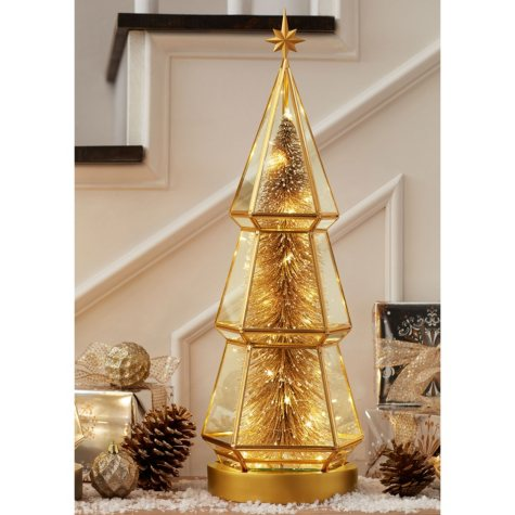 "Member's Mark 23.5"" Pre-Lit Glass Tree"