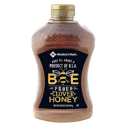 Member's Mark Bee Proud All-American Clover Honey (40 oz., 2 pk.)