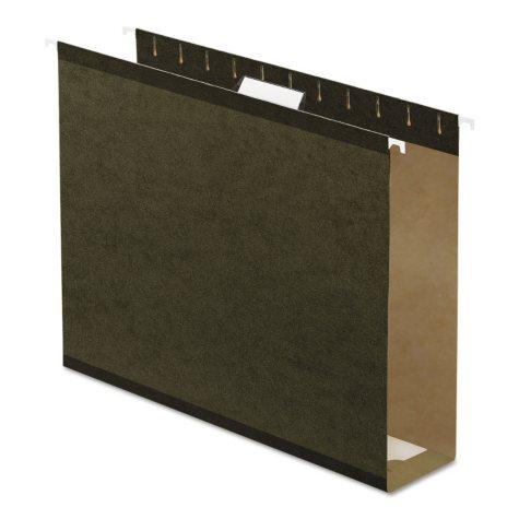 "Pendaflex 3"" Reinforced Extra Capacity Hanging Folders, Standard Green (Letter, 25 ct.)"
