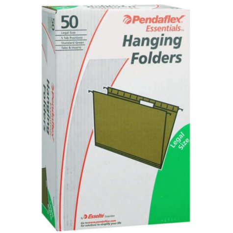 Pendaflex® Essentials Hanging Folders - 50 ct.