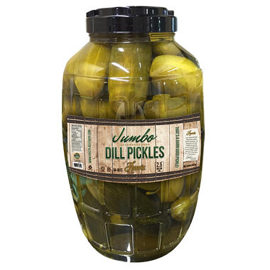 Hunn's Jumbo  Dill Pickles (2.5 Gallon)
