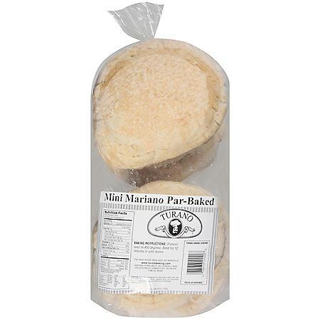Turano Mini Mariano Par-Baked Bread (24 oz.)