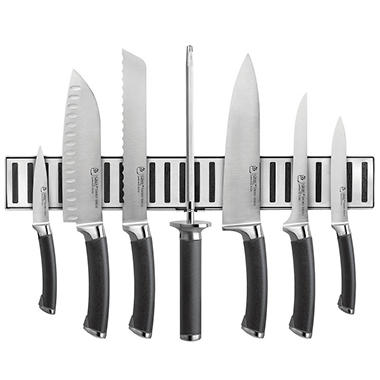 Ginsu Shoku Series Anodized Cutlery Set - 8 pc. - Ebony