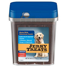 Jerky Treats Dog Snacks, Lamb (60 oz.)