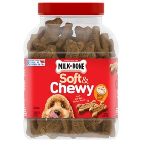 Milk-Bone Soft & Chewy Chicken Recipe Dog Snacks (37 oz.)