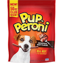 Pup-Peroni Dog Snacks Original Beef Flavor, 50 oz.
