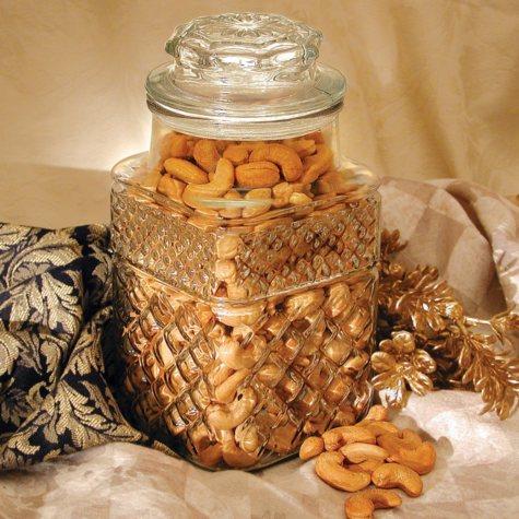Golden Kernel Fancy Colossal Cashew Jar (32 oz.)