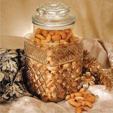 Golden Kernel Fancy Jumbo Cashew Jars (192 jars, 1 pallet)