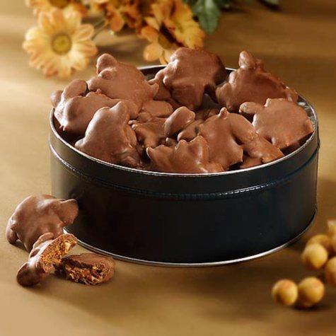 Chocolate Turtles Gift Tin - 23 ozs.