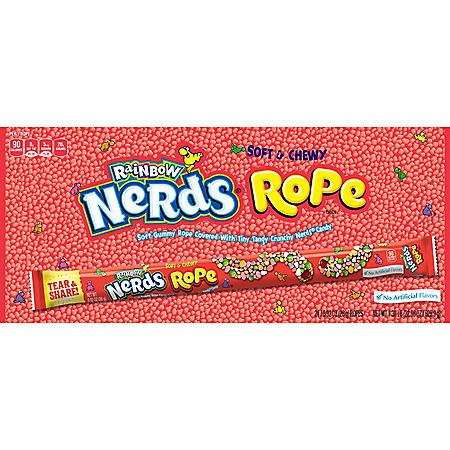 Rainbow Nerds Rope (0.92 oz., 24 ct.)