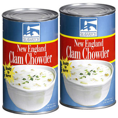 SeaWatch Clam Chowder - 2/51oz