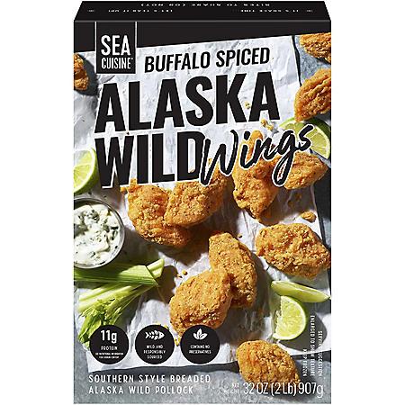 Sea Cuisine Buffalo Spiced Wild Alaska Wings (2 lbs.)