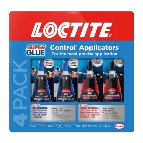 Loctite UltraGel/Ultra Liquid Super Glue 4 pack
