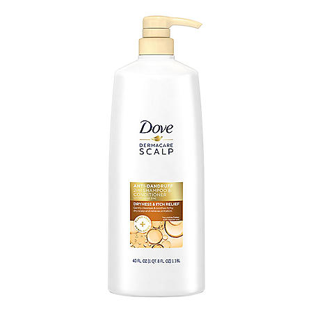 Dove Dermacare 2-in-1 Scalp Anti-Dandruff Shampoo and Conditioner (40 fl. oz.)