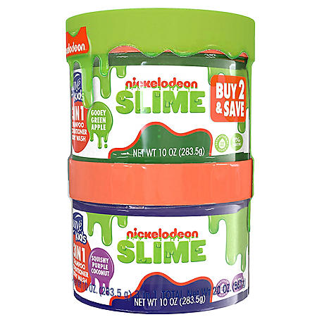 Suave Kids Slime 3-in-1 Shampoo, Conditioner, & Bodywash (10 fl. oz., 2 pk.)
