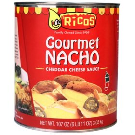 Ricos Salsa de Queso Cheddar Nacho (6.11 lbs.)