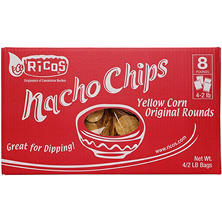 Member's Mark Ricos Original Yellow Round Tortilla Chips (2 lb., 4 ct.)