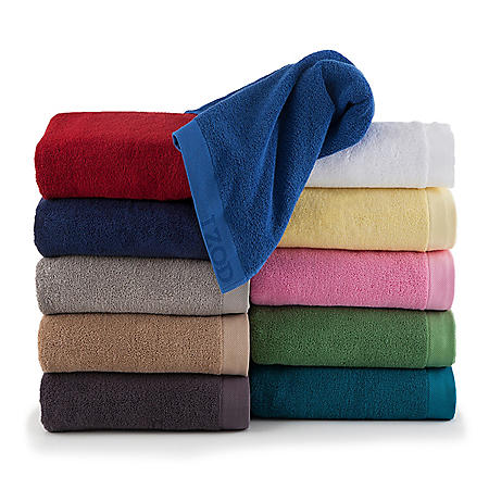 IZOD Classic Egyptian Optical 6-Piece Towel Set (Assorted Colors)