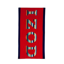 IZOD Rainbow Beach Towel