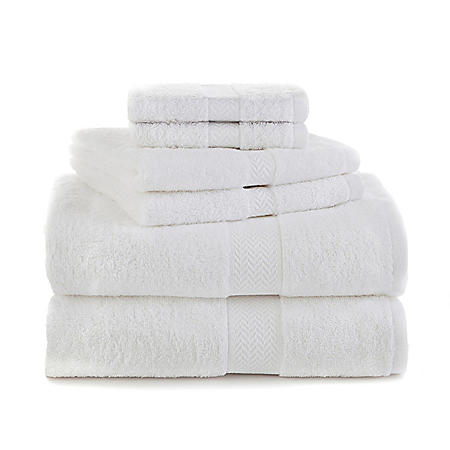 Martex Ringspun Cotton 6-Piece Towel Set