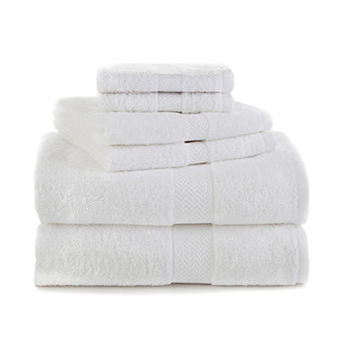 Martex Ringspun Cotton 6 Piece Towel Set
