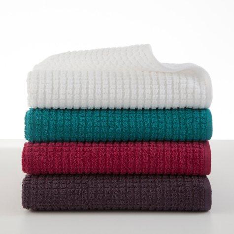 Martex Staybright Textured Bath Towel