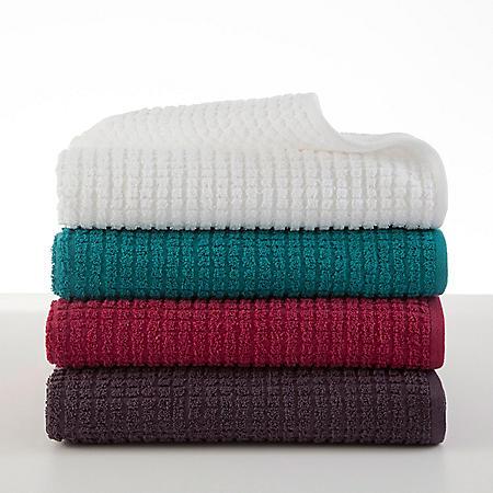 Martex Staybright Textured Wash Cloth