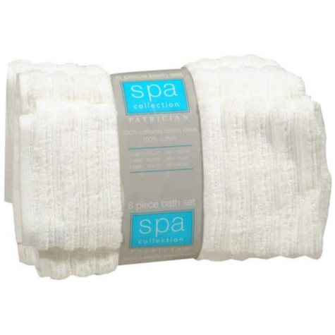 Patrician® Bath Set 100% Cotton - 6 pcs.