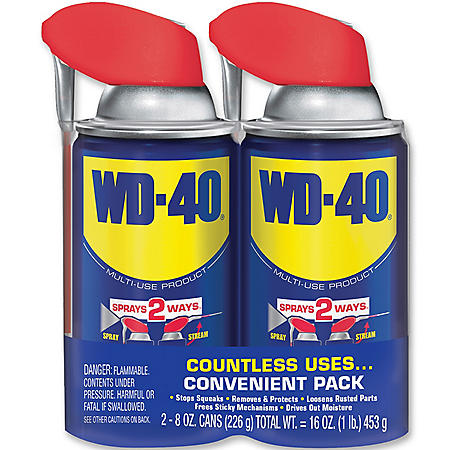 WD-40 8oz, 2 Pack