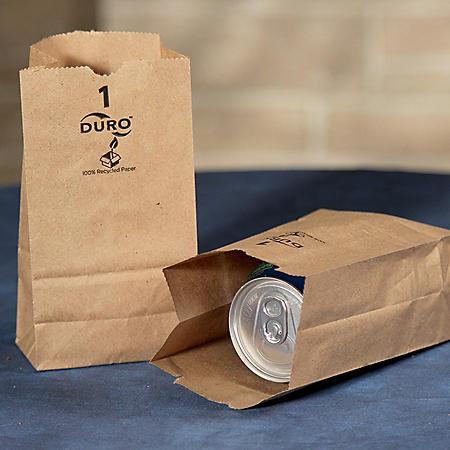 Duro Member's Mark Bag 1# Kraft Bags - 500 ct.