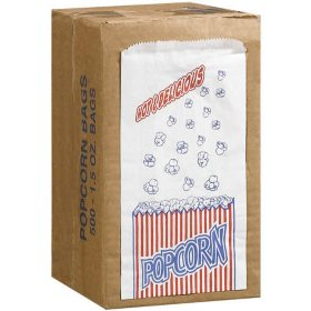 Duro Bag Popcorn Bags 500 1 5oz