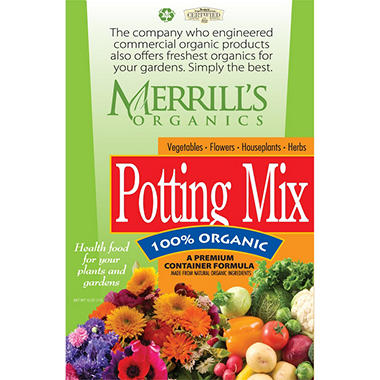 Merrill's Organic Potting Mix